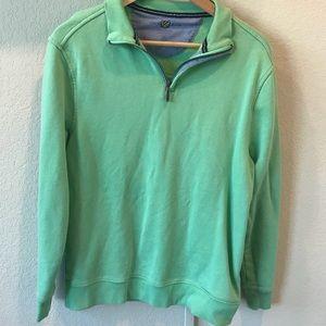 Club Room light green 1/4 zip pullover